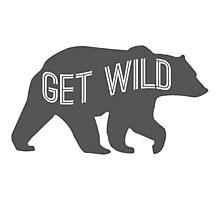 Get Wild Bear Photographic Print