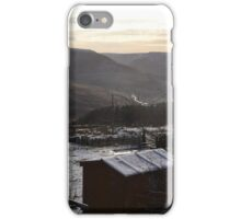 Sunset in Holmfirth, Yorkshire iPhone Case/Skin