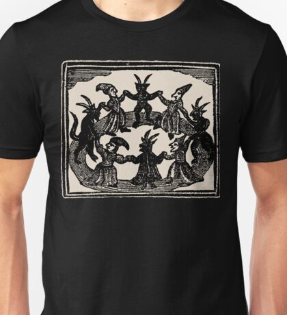 Witches Circle Dance Unisex T-Shirt