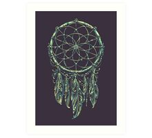 Dream Catcher Acid Art Print