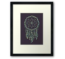 Dream Catcher Acid Framed Print