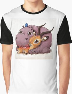 Hippo and Impala Graphic T-Shirt