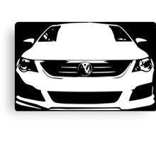 VW - CC (white) Canvas Print