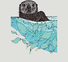 Sea Otter Sketch Color Unisex T-Shirt
