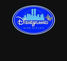 """DI$NEYPLANNED"" Blue Logo v.2  (dark color tees)  Unisex T-Shirt"