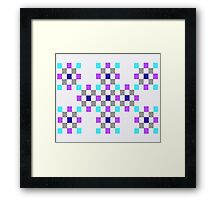 Quilted Eye Framed Print