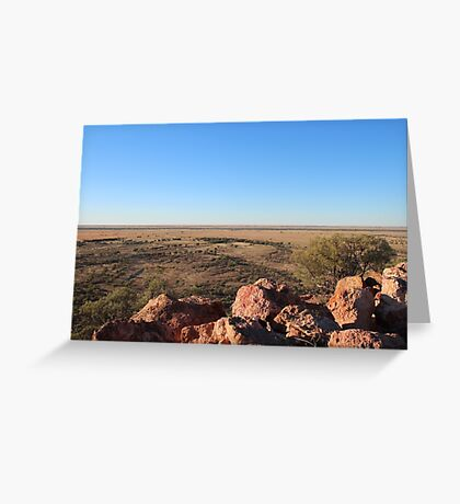 Dinosaur Lookout Greeting Card