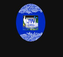 JW.ORG Logo With Beautiful Peacock & Bluebonnets Womens Fitted T-Shirt