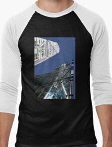 My two tall neighbours Men's Baseball ¾ T-Shirt