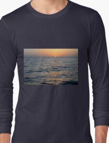 Sunset at the sea. Long Sleeve T-Shirt