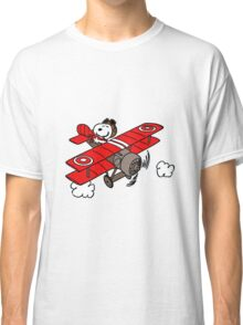 flying snoopy Classic T-Shirt