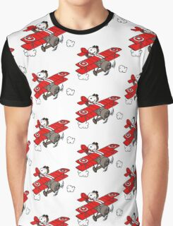 flying snoopy Graphic T-Shirt