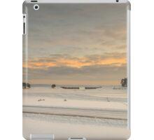 Snow on lagoon iPad Case/Skin