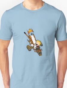 captain calvin and hobbe T-Shirt