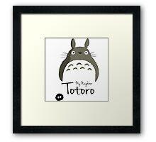 totoro neighborg Framed Print