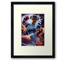 Chun-Li Street Fighter 2 Fan items! Framed Print
