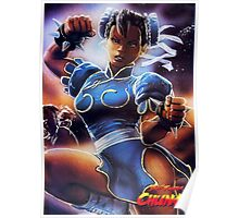 Chun-Li Street Fighter 2 Fan items! Poster