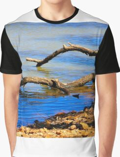 Down by the Riverside Graphic T-Shirt