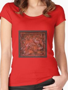 Mars Retrospective 2 Women's Fitted Scoop T-Shirt
