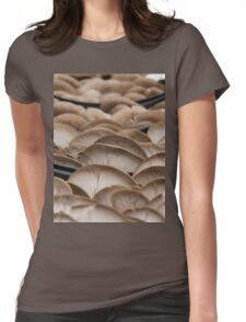 mushrooms Womens Fitted T-Shirt