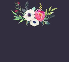 Anemone Peony Watercolor Bouquet Tank Top