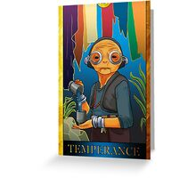 Temperance Greeting Card