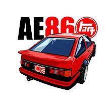 AE86 COROLLA JDM STYLE Photographic Print