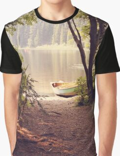 Blissful forest landscape Graphic T-Shirt