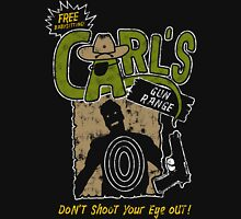 Carl's Gun Range - Don't Shoot Your Eye Out! Unisex T-Shirt