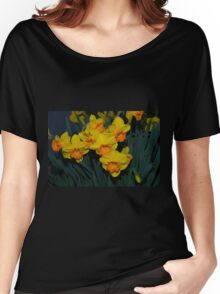 Mary Bohannon Daffodils Women's Relaxed Fit T-Shirt