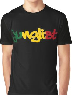 Rasta Junglist Graphic T-Shirt