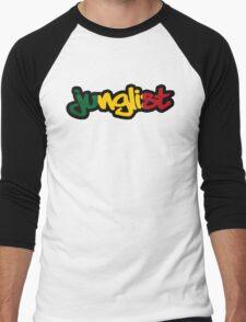 Rasta Junglist Men's Baseball ¾ T-Shirt