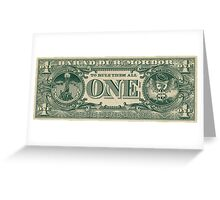 The One Bill. Greeting Card