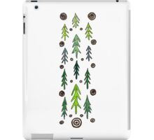 Forest of fir trees iPad Case/Skin