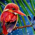 Rufous backed Kingfisher by Raffaella Picotti