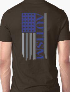 american autism flag blue T-Shirt
