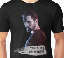 We See the World Differently Unisex T-Shirt