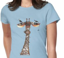 Wrapped giraffe Womens Fitted T-Shirt