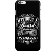 Beard Religion iPhone Case/Skin