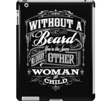 Beard Religion iPad Case/Skin
