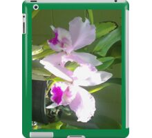 Pretty Pink & Iris iPad Case/Skin