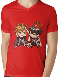 Chibi 1 Haikyuu!! Anime Mens V-Neck T-Shirt