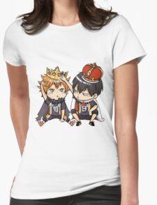 Chibi 1 Haikyuu!! Anime Womens Fitted T-Shirt