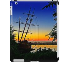 La Grande Hermine at Sunset iPad Case/Skin