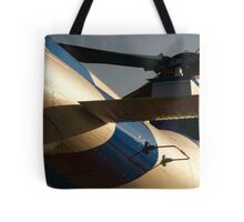Agusta A109S Helicopter Sunrise Tote Bag