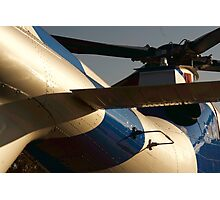 Agusta A109S Helicopter Sunrise Photographic Print