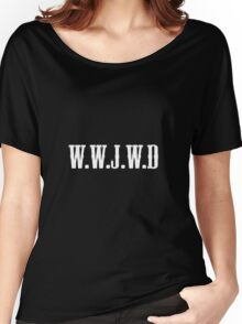W.W.J.W.D Women's Relaxed Fit T-Shirt
