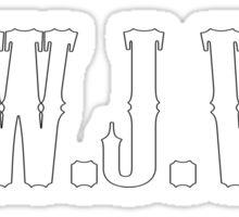 W.W.J.W.D Sticker