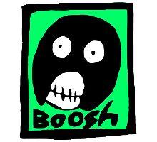Boosh Photographic Print