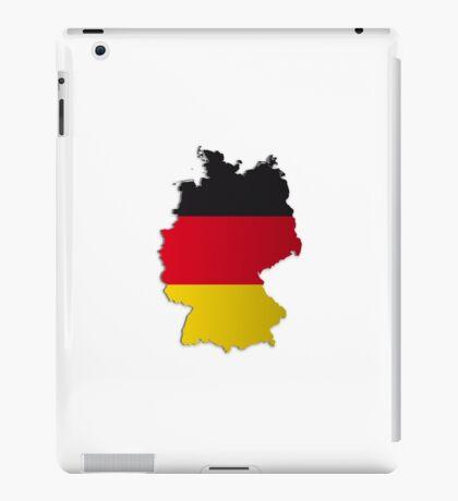 Map of Germany 2 iPad Case/Skin